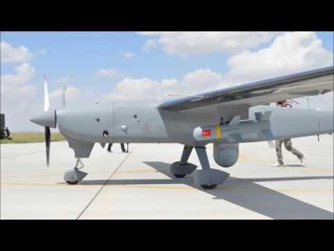 Karayel Karapınar'da hedefi 12'den vurdu..   Turkeys newest weapon carrying drone..