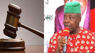 Court Dismisses Suit Against Ihedioha's Swearing-In
