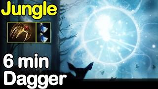 Io [Wisp] jungle 6 min Dagger vs 9K Matubaman Morphling Dota 2 7.02