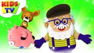 This Old Man | Little Eddie | Kindergarten Nursery Rhymes For Children | Cartoons by Kids TV
