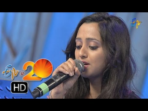 Malavika,Aditya Performance - Pimple Dimple Song in Chilakaluripet ETV @ 20 Celebrations
