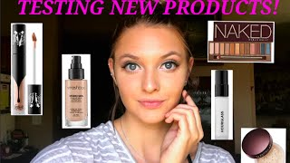 MAKEUP PRODUCT REVIEW & TESTING! Smasbox, KatVonD, Hourglass & MORE!
