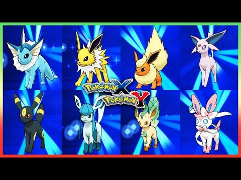 Pokemon X & Y - How to Get Eevee & Evolve It!