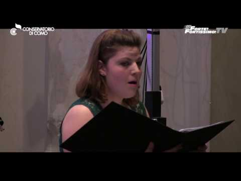 Conservatorio Como   Monteverdi: Io son pur vezzosetta