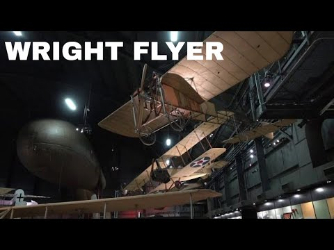 Wright 1909 Military Flyer UP CLOSE IN PERSON!
