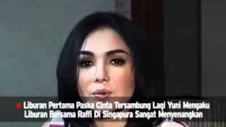 Yuni Shara Rayakan Ulang Tahun Raffi Di Singapura Mp3