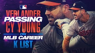 Justin Verlander passes Cy Young!