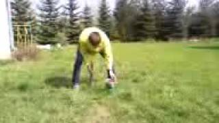 Видео Прикол Пивная банка тяжелая кувалда Ума нет Сила есть яючбсьмти