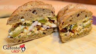 Reteta de Sandwich cu Pui