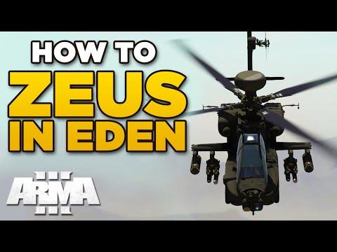HOW TO ZEUS IN EDEN EDITOR | ARMA 3 Beginners Tutorial