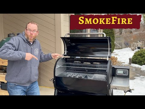 Weber Smoke Fire Unboxing & Assembly - Large SmokeFire EX6