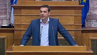 """تسيبراس يقول إن صندوق النقد الدولي يتحمل مسؤولية """"جنائية"""" للمأزق الاقتصادي باليونان   17-6-2015"""