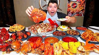 The Best Seafood Boil I've Ever Had • MUKBANG