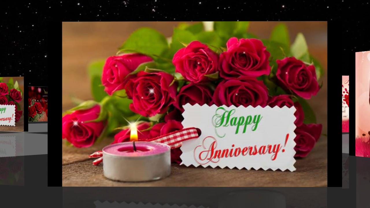 Happy Wedding Anniversary Gif 2018 Youtube
