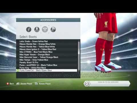 FIFA 14: BOTAS OFICIALES (TODAS)