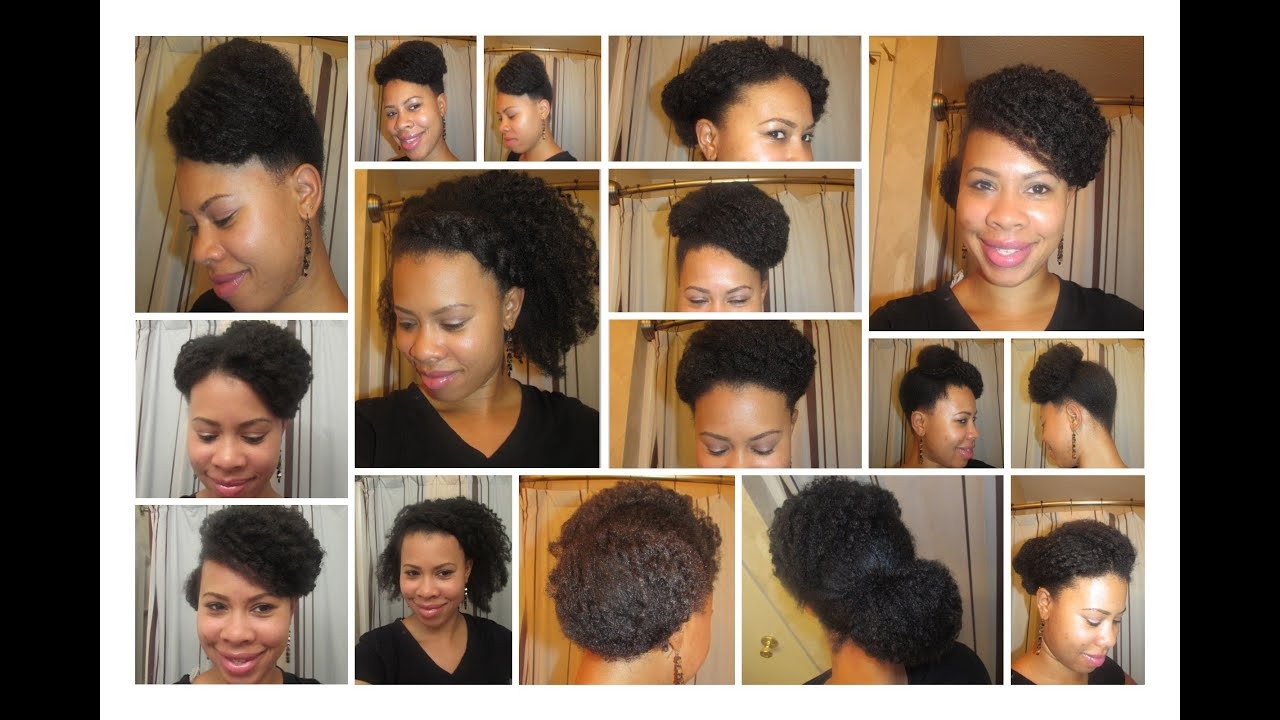 ♡ TnC 13 ♡ 5 Quick Natural Hairstyles