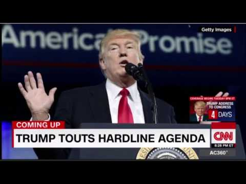 trump praises first amendment but slams news media at CPAC #newsmedia #media #trump