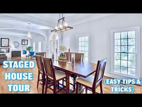 STAGED HOUSE TOUR | Easy Tips & Tricks