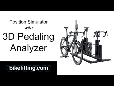 Position Simulator with 3D Pedaling Analyzer