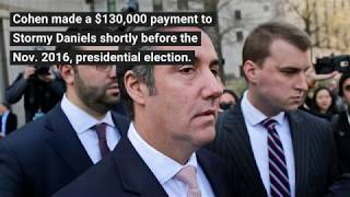 Trump discloses reimbursement to Michael Cohen for 2016 payment to Stormy Daniels