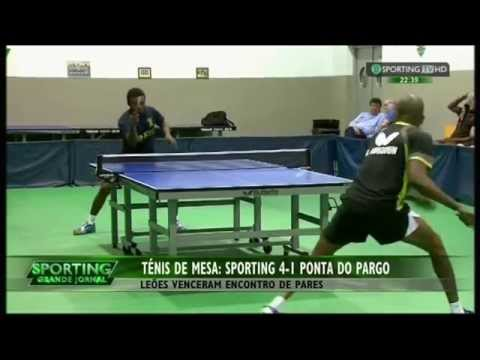 Tenis de Mesa :: 20J :: Sporting - 4 x Ponta do Pargo - 1 de 2014/2015