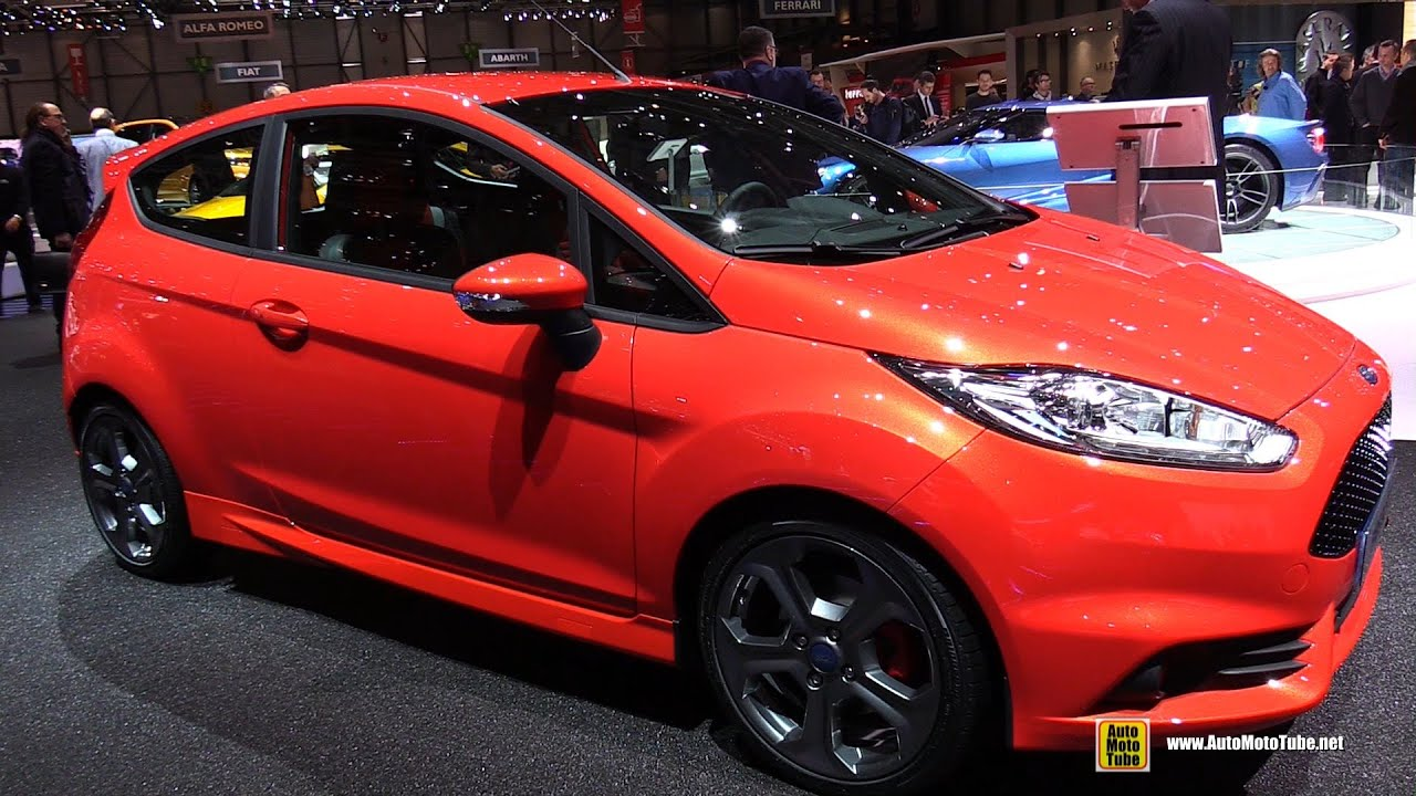 2015 ford fiesta st 3 door exterior and interior walkaround 2015 geneva motor show