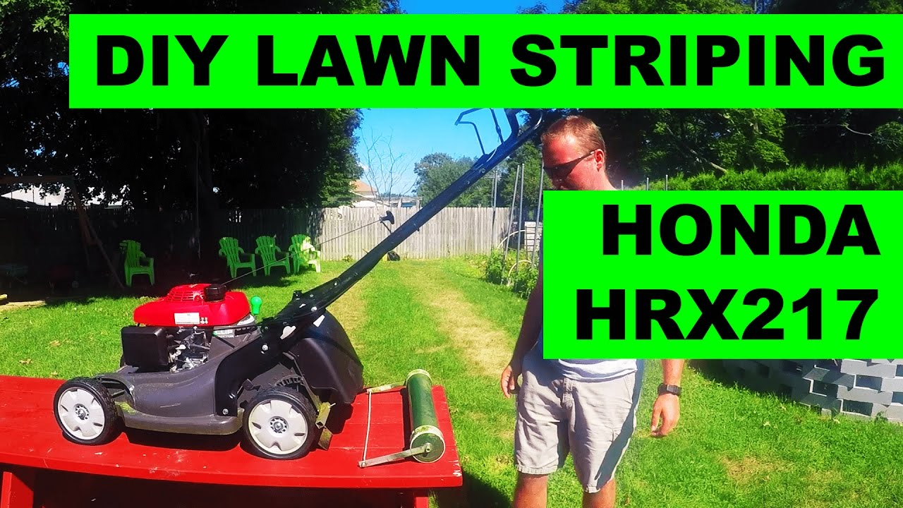 DIY Lawn Striper For Honda HRX Lawn Mowers