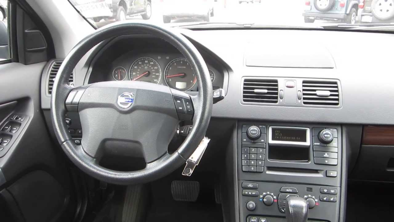 2006 volvo xc90 gray stock 130964a interior youtube for Interieur xc90