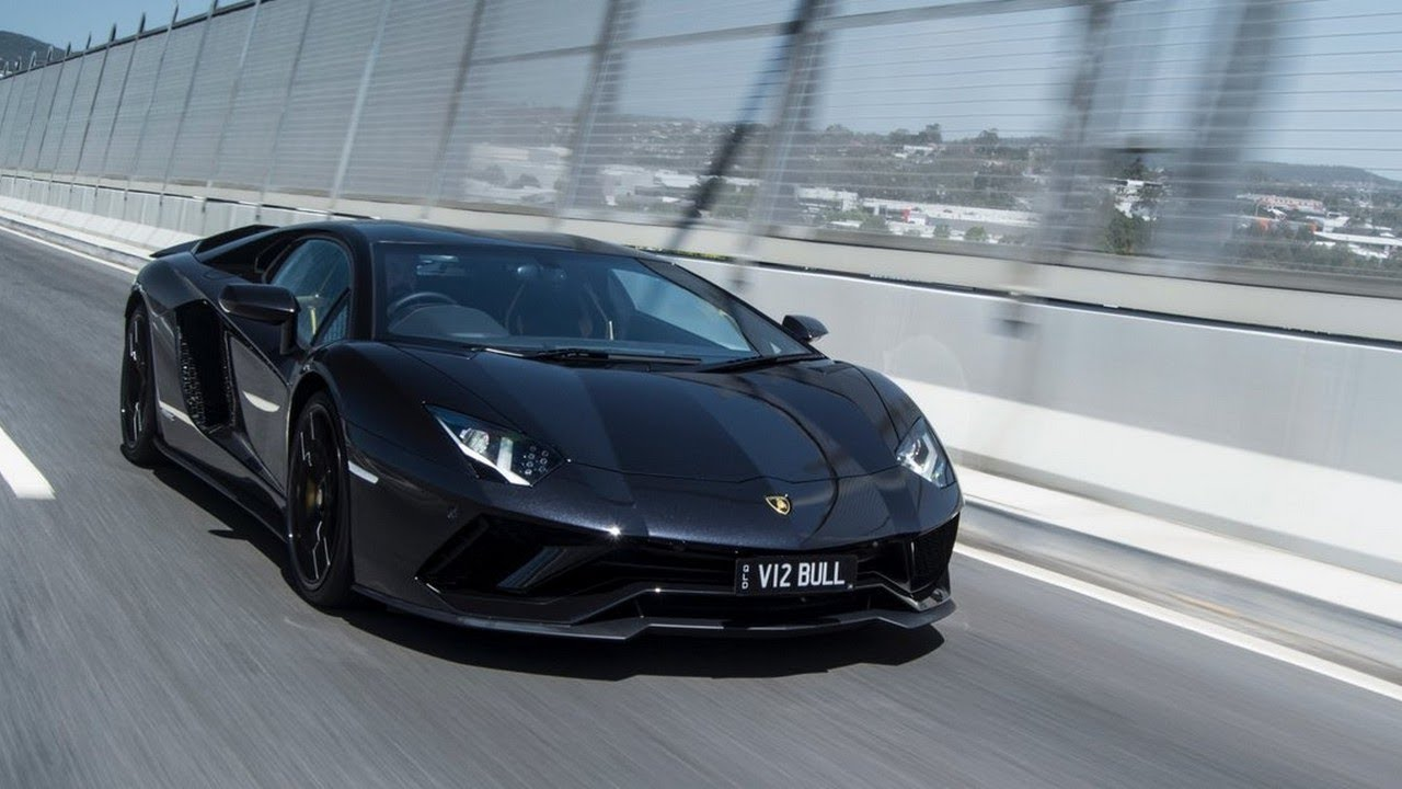 2018 Lamborghini Aventador S Exterior Interior Youtube