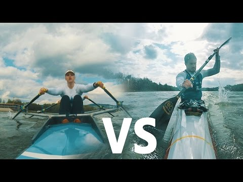 Rowing is Passion - ROWER vs KAYAKER