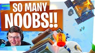 We found so many NOOBS! - The Best Fortnite Duo Returns!