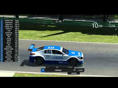 2016 CJ Korea Express Superrace Assetto Corsa Championship S01 R05 Imola