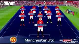 Manchester United Vs Leicester City All Goals 4-1