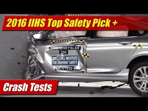 Crash Tests: 2016 IIHS Top Safety Pick + Winners