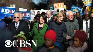 2020 Daily Trail Markers: Democratic candidates leaving campaign trail for Senate impeachment tri…