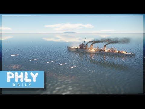HMS HOOD SYNDROME...I THINK NOT (War Thunder HMS Enterprise Gameplay)