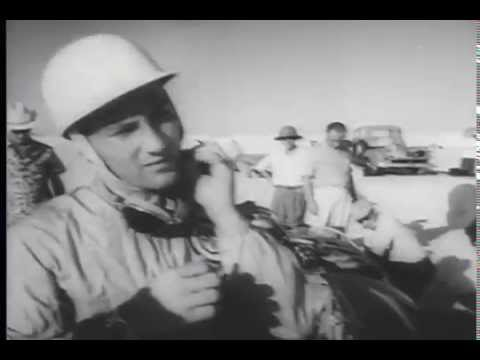 Stirling Moss MG Land Speed Record