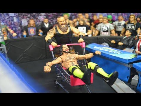 WWE ACTION FIGURE SETUP! EXTREME EDITION!