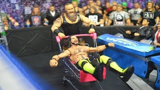 WWE ACTION FIGURE SETUP! EXTREME EDITION!