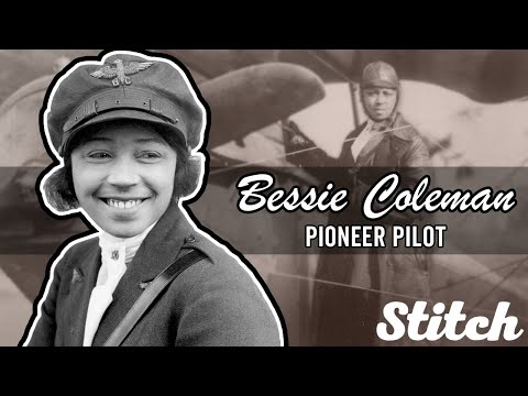 Bessie Coleman, The First African American Woman To Earn A Pilot's License | Black History Month
