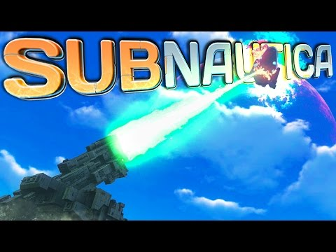 Subnautica | Part 44 | FIRE THE LASER!!
