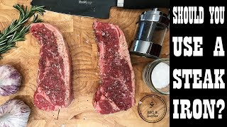 Steak Experiments - Should you use a Steak Iron? (S1.E12)