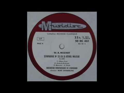 Mozart, Symphony No 35, Sanderling