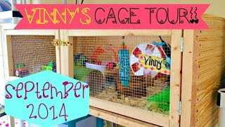Vinny's Hamster Cage Tour! September 2014 Thumbnail