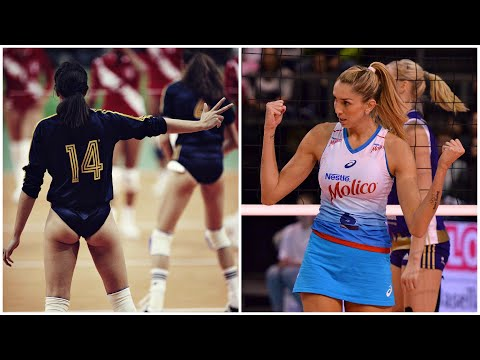 Volleyball Uniform Evolution 1960 - 2018 (HD)