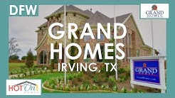 Grand Homes at Silverleaf Estates in Irving, TX