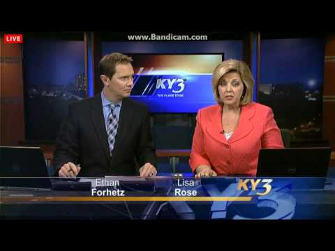 K15CZ/KSPR-DT2 (KYTV) KY3 News at Nine on The Ozarks CW Open 12/9/2014