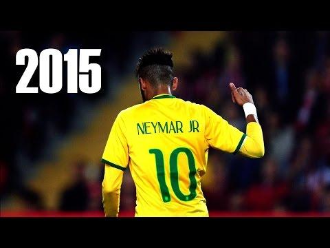 เนย์มาร์ Neymar Jr  ทักษะการเลี่ยงลูก King Of Dribbling Skills 2015