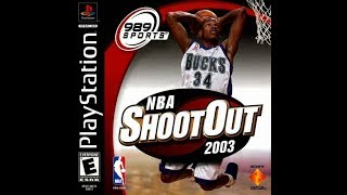 NBA ShootOut 2003 (PlayStation)