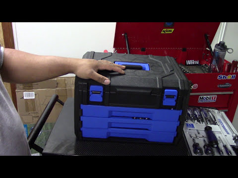 Tool review of the Kobalt 227 piece tool set!